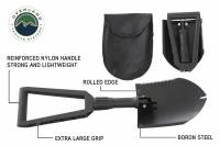 Overland Vehicle Systems - Multi Functional Military Style Utility Shovel with Nylon Carrying Case Overland Vehicle Systems #19049901 - Image 5