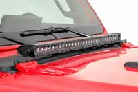 Rough Country - Jeep 30 Inch LED Hood Kit 18-20 Wrangler JL, 20 Gladiator JT Black-Series Rough Country #70054 - Image 4